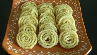 getlinkyoutube.com-How to Make Home-Made Crunchy Butter Chakli