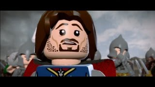 getlinkyoutube.com-LEGO Lord of the Rings - All Cutscenes