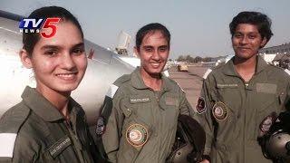 getlinkyoutube.com-India's First Women Fighter Pilots Exclusive Interview   TV5 News