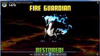 getlinkyoutube.com-MinoMonsters   Battling The Legendary Fire Guardian in Spirit Form