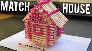 getlinkyoutube.com-How to Make a Match House