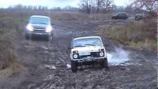 getlinkyoutube.com-Chevrolet Tahoe 2005 (GMT840) & niva & Уаз Patriot и Уаз Pickup off road