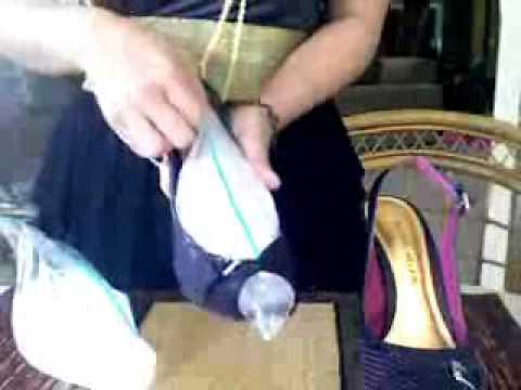 Como agrandar zapatos apretados fn.wmv