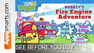 getlinkyoutube.com-Wubbzy's Fire Engine Adventure by Cupcake Digital - game review