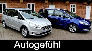 getlinkyoutube.com-All-new Ford Galaxy FULL REVIEW vs Ford S-MAX comparison test driven 3rd generation 2016