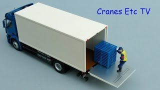 getlinkyoutube.com-NZG Mercedes-Benz Antos Box + Loading Platform by Cranes Etc TV
