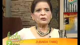 getlinkyoutube.com-Suji Ka Halwa, Hyderabadi Pulao And Daal Achari by Zubaida Tariq   Zaiqa