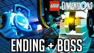 getlinkyoutube.com-LEGO Dimensions Portal ENDING and GLADOS BOSS!! Gameplay Walkthrough Part 3 (LEGO Portal 2 Level)