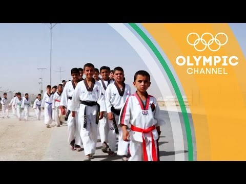 Taekwondo Draws Out New Confidence in Refugee Children   Camps to Champs