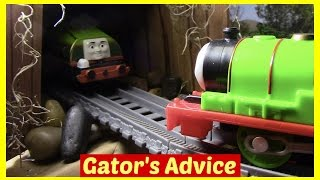 getlinkyoutube.com-Thomas and Friends Accidents will Happen Toy Trains Thomas the Tank Engine Gator Percy