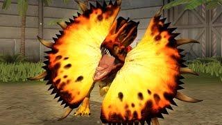 getlinkyoutube.com-Jurassic World: The Game - Dilophosaurus [Evolved 4 Final Max Level]