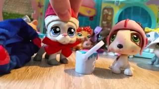 getlinkyoutube.com-LPS: Św. Mikołaj u Zakręconych Littlest Pet Shop !!!