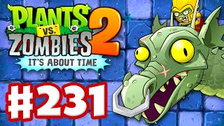getlinkyoutube.com-Plants vs. Zombies 2: It's About Time - Gameplay Walkthrough Part 231 - Zomboss Dragon Fight! (iOS)