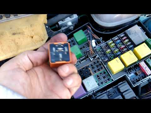 Opel corsa C. спидометр не работает.speed sensor.