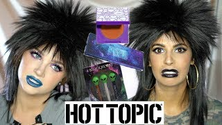 A FULL FACE OF HOT TOPIC MAKEUP W. GLAM AND GORE! width=