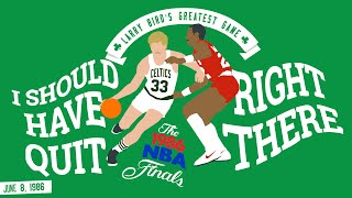 "getlinkyoutube.com-Larry Bird's Greatest Game ""I should have quit right there"""