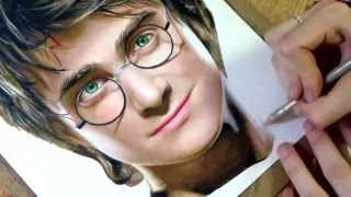 getlinkyoutube.com-Drawing Harry Potter