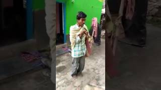 Indian Funny Guy Singing Funny Song.