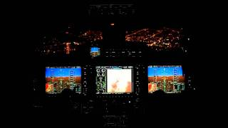 getlinkyoutube.com-Embraer Phenom 300 - Night landing in Quito - SEQU