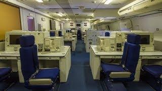 getlinkyoutube.com-Guided Tour Inside the E-4B NAOC Doomsday Plane