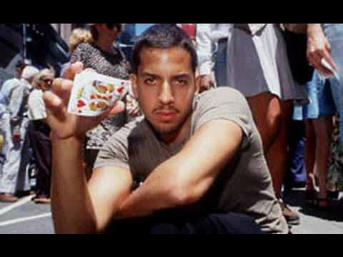 Amazing David Blaine street magic Card Trick Revealed / Tutorial