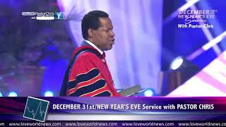 """""""2018 is the Year of the Supernatural!"""" — Pastor Chris Oyakhilome"""