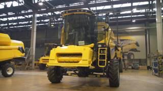 getlinkyoutube.com-New Holland uchyla rąbka tajemnicy produkcji maszyn w Płocku