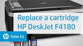 getlinkyoutube.com-Replacing a Cartridge - HP Deskjet F4180 All-in-One Printer