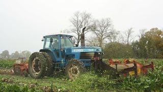 getlinkyoutube.com-Landb. Barra & Demol - Alveringem - Ford TW-25 - Fiatagri 100-90 - Herriau