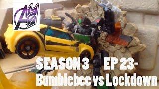 getlinkyoutube.com-Transformers Prime Legacy [SEASON3]Ep 23- Bumblebee vs Lockdown Stop Motion