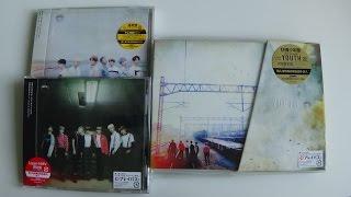getlinkyoutube.com-Unboxing BTS (Bangtan Boys) 防彈少年團 2nd Japanese Studio Album YOUTH [All Editions]