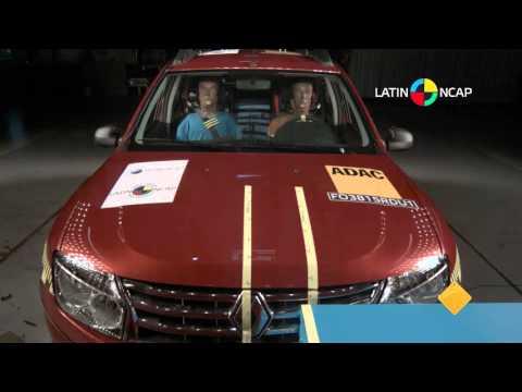 Crash test: Renault Duster