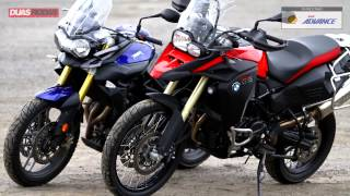 getlinkyoutube.com-Comparativo: BMW F 800 GS Adventure x Triumph Tiger 800