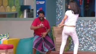 Ganja karuppu and oviya dance 😱😱 #biggbosstamil