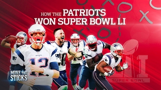 How the Patriots Executed the Game-Winning Drive of Super Bowl LI | NFL | Move the Sticks