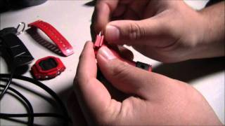 getlinkyoutube.com-G-Shock: How To Change The Straps On A G-Shock Casio