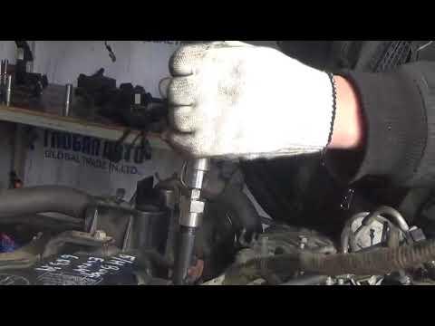 Проверка компрессии в двигателе J3 Kia Bongo III 2.9л Euro IV 06.03.19