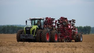 Claas Xerion 5000 with the duals on norht america [HD]