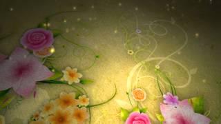 getlinkyoutube.com-خلفيات فيديو - ورود وزخارف وزهور متحركة ولوحات زيتية