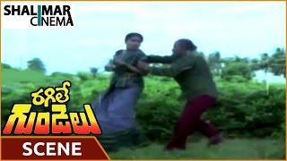 getlinkyoutube.com-Ragile Gundelu Movie || Radhika Kidnap Scene Scene || Mohan Babu, Radhika