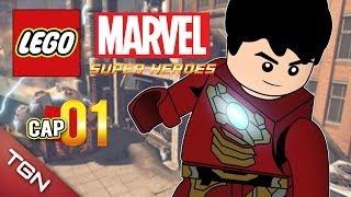 """getlinkyoutube.com-LEGO MARVEL SUPER HEROES: """"ESTRENO ÉPICO"""" #1 ( Gameplay en Español )"""