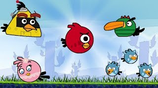 getlinkyoutube.com-Angry Birds Online Games - Episode Ugly Birds Levels 1-9 - Like Rovio Games