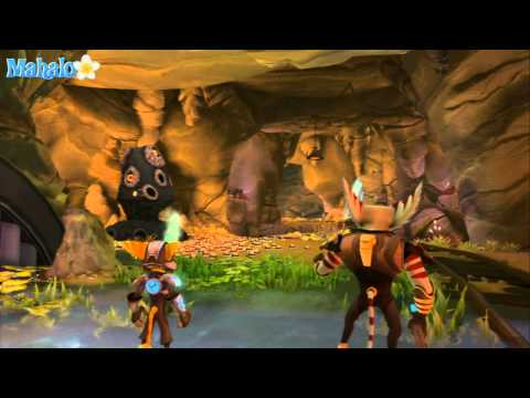 Ratchet &amp; Clank Future: A Crack in Time Walkthrough: Krell Canyon Part 1