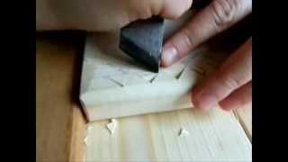 getlinkyoutube.com-Резьба по дереву. Урок 1 (геометрическая)
