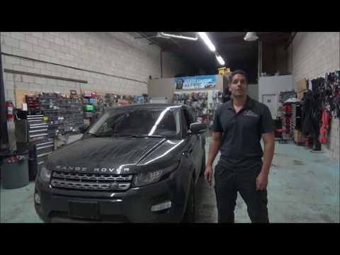 Range Rover Evoque 1 button remote starter