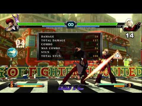 SPECIAL: KOF XIII 98' Iori combo tutorial - Purple Flame Iori. Burn Baby Burn