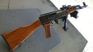 getlinkyoutube.com-実弾射撃 AK47 アサルトライフル 200m狙撃 (AK-47 Rifle Sniper)