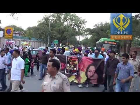 protest for sadda haq in delhi
