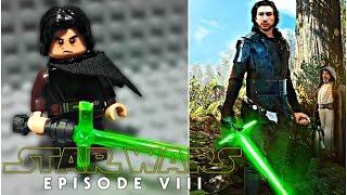getlinkyoutube.com-LEGO Star Wars Episode 8 (VIII) - Light Side Kylo Ren (Ben Solo) Minifigure Review