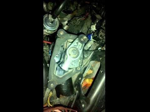 Неисправность моторчика дворников Ford Probe